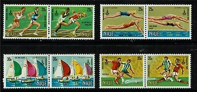 Niue 1980 Olympic Games SG366/73 MNH