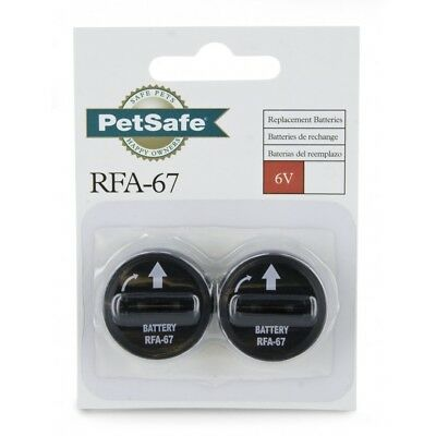 Petsafe Rfa-67D-11 Spare Batteries 6V 2 Pack Waterproof Extra Replacements Pet