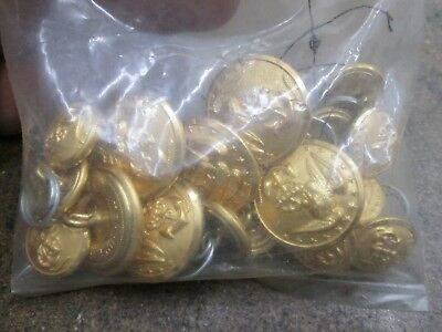 Small Bag of New Never Used U.S.Navy Coat Buttons No Reserve