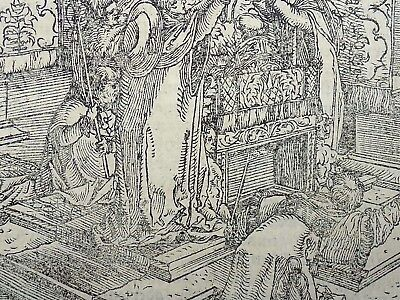1544 Petrach Master - Hans Weiditz 1495-1537 - Coronation of the Pope