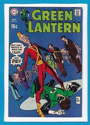 Green Lantern #70_July 1969 Very Fine Minus_Guardians Of The Universe_Silver Dc!