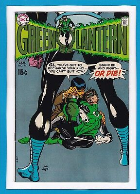 "Green Lantern #74_January 1970 Very Fine+_""lost In Space""_Silver Age Dc!"