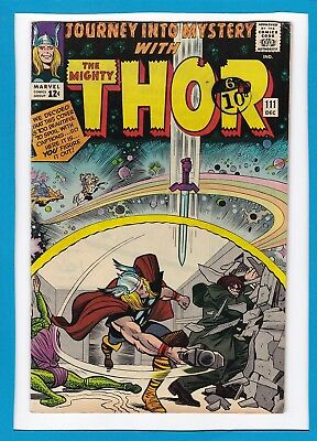 Journey Into Mystery #111_Dec 1964_Very Fine Minus_Mighty Thor_Cobra_Mr. Hyde!