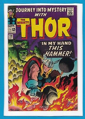 Journey Into Mystery #120_Sept 1965_Very Fine_Thor_Avengers Cameo_Jack Kirby!