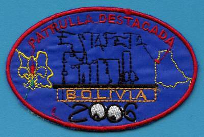 BOLIVIA Scout badge / patch. WORTH A LOOK!