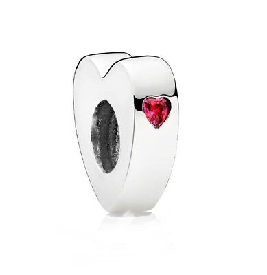 AUTHENTIC PANDORA TWO HEARTS You & Me Spacer 796559CZR New w Tags & HINGED BOX