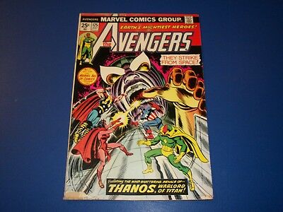 Avengers #125 Bronze Age Thanos Captain Marvel Key Cosmic Cube Wow