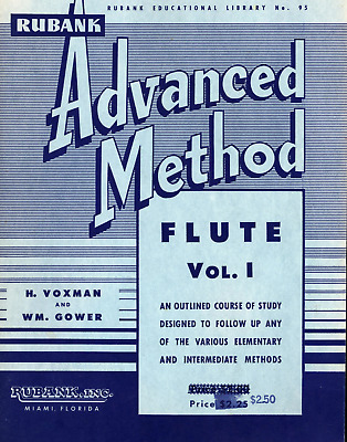 Instruction Books, Cds & Video Hearty Rubank Advanced Method Flute Vol Musical Instruments & Gear 1 Advanced Band Method New 004470390