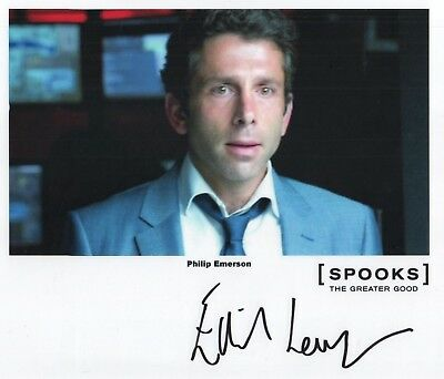 "Spooks MI-5 The Greater Good Auto Photo Print Elliot Levey ""Philip Emerson"""
