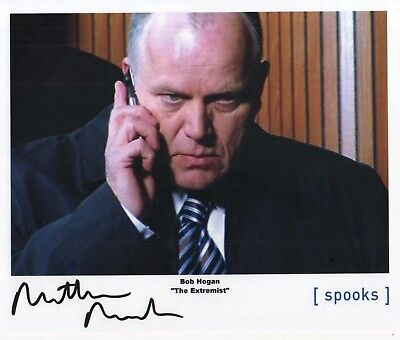 "Spooks MI-5 Auto Photo Print Matthew Marsh ""Bob Hogan"""
