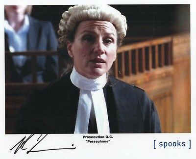 "Spooks MI-5 Auto Photo Print Penny Downie ""Prosecution Q.C."""
