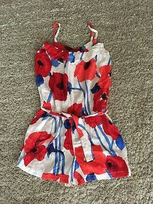 Gap Girls Poppy Playsuit (Age 12-13 Years) In Excellent Condition