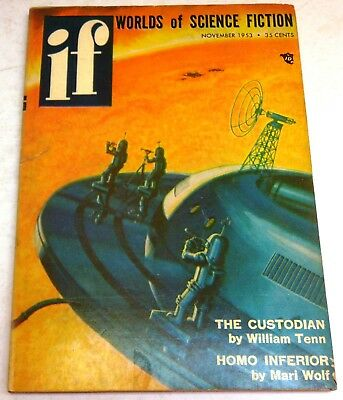 IF – Worlds of Science Fiction - US digest – November 1953 - Vol.2 No.5 - Tenn