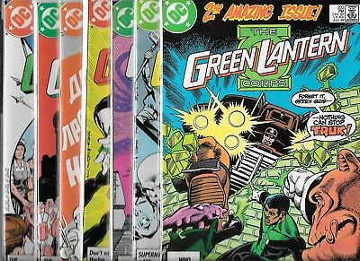 The Green Lantern Corps Lot Of 7 - #202 #204 #2-05 #207 #208 #209 #210 (Vf/nm)
