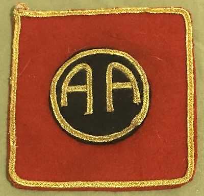 WW1 AEF 82nd Division Reproduction/Collector Patch