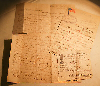 Two Spanish American War Letters - 1st Maine Volunteer Artillery