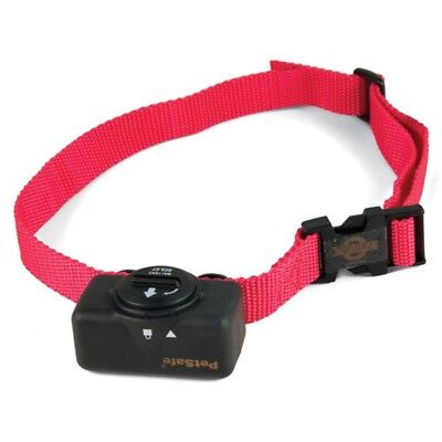PetSafe Static Bark Control Collar Red One Size Dog Puppy No Noise Stop barking