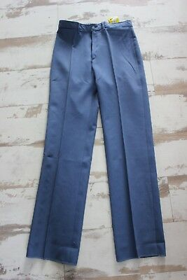 Vintage and nine Trousers gray blue - Tergal - T 38 - John Meyer of Norwich