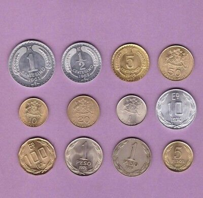 Chile - Coin Collection - Lot # A-12 - World/Foreign/South America