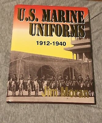 Great WW1 USMC Uniform And EGA Reference Book Out Of Print