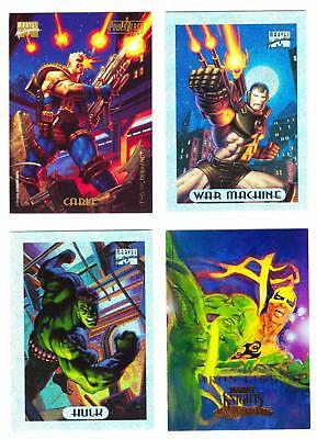 MARVEL MASTERPIECES (1994/2008)--Lot of 12 Mixed Insert Cards^