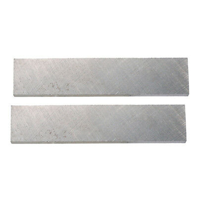 2 Pieces Alnico 5 Bar Magnet for Electric Guitar Humbucker Pickups Silver