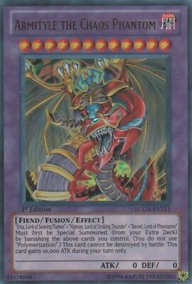 Yugioh Armityle the Chaos Phantom LCGX-EN211 1st Ed Ultra Near Mint Fast Ship!