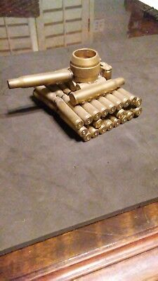 trench art inspired ammo figurines