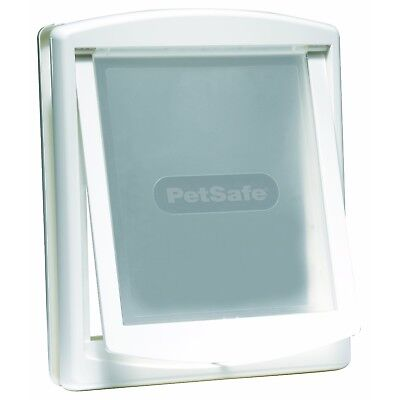 PetSafe Staywell Original 2 Way Large Pet Door Dog Cat Transparent Flap - White
