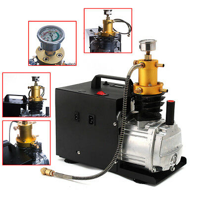 4500PSI 30MPA 300BAR PCP Electric Pump Air Compressor For Gas FiGS 2Stage 1.8 KW