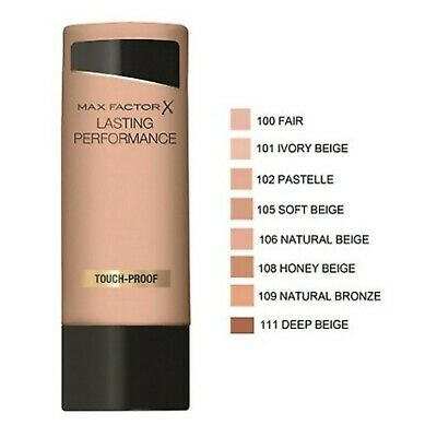 Max Factor Lasting Performance Touch-Proof Foundation *Choose*