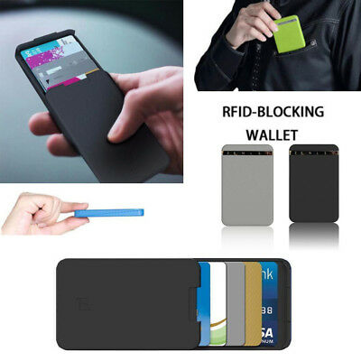 Zenlet Credit Card Package Anti-side Wallets Action Wallet Push-pull Card Holder