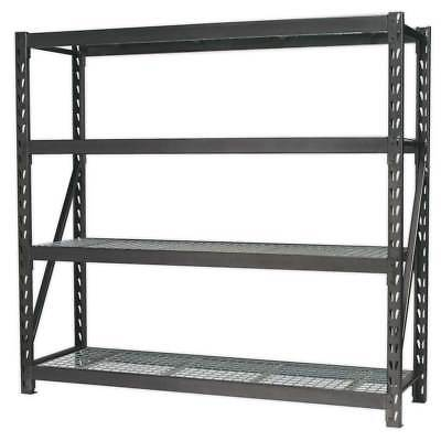 Sealey Heavy Duty Racking Unit with 4 Mesh Shelves 640kg Capacity Per Level