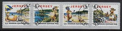 Jersey 1997 Lillie the Cow set very fine used
