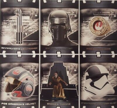 star wars THE LAST JEDI Series 2 ITEMS And ARTIFACTS Card Set of 20 topps 2018