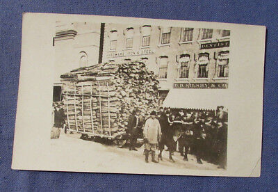 Antique Logging Real Photo Postcard Logs From Sullivan Nh Photo In Keene Nh ?