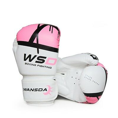 Professional boxing gloves, 6-8-10-12 Oz