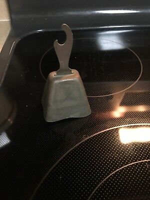 Primitve Bell With  Can Opener End