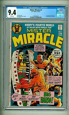 Mister Miracle #4 Cgc 9.4 First Big Barda  1971