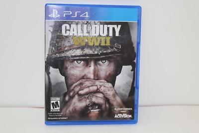 Call of Duty: WWII (Sony PlayStation 4, 2017) FREE SHIP!