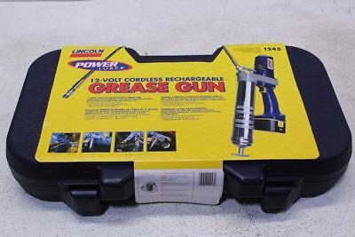 Lincoln 12 Volt Cordless Rechargeable Grease Gun 1242