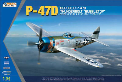 Kinetic K3207 - 1:24  P-47D Thunderbolt Bubble Top  - Neu