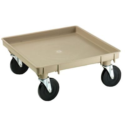 Traex 1697 Beige Glass Rack Dolly without Handles