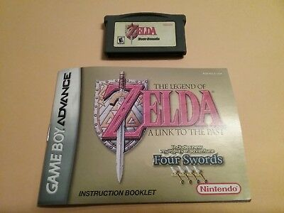 Legend of Zelda: A Link to the Past Four Swords Nintendo Game Boy Advance, 2002