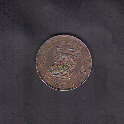 1911 Great Britain Silver 6 Pence