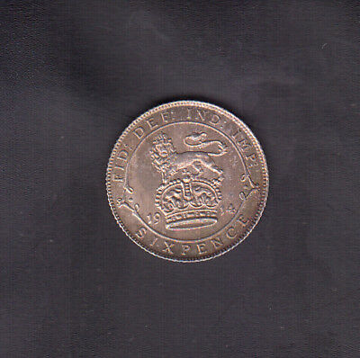1914 Great Britain Silver 6 Pence
