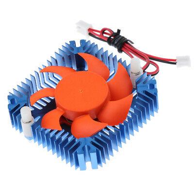 Computer CPU VGA Video Card 55mm/5.5cm Cooling Fan Heatsink Radiator 3000r/m