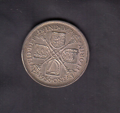 1936 Great Britain Silver Florin
