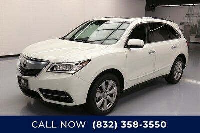 Acura MDX SH-AWD 4dr SUV w/Advance Package Texas Direct Auto 2016 SH-AWD 4dr SUV w/Advance Package Used 3.5L V6 24V AWD SUV