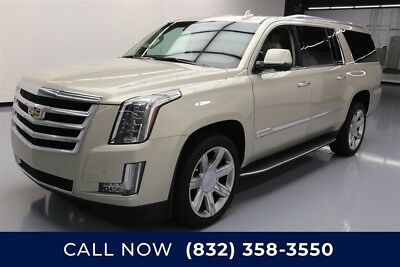 Cadillac Escalade Luxury Collection Texas Direct Auto 2016 Luxury Collection Used 6.2L V8 16V Automatic RWD SUV Bose